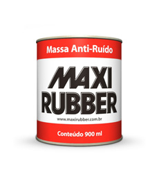 Massa Anti-Ruído Maxi Rubber